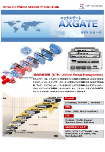 AXGATE2015カタログpreview